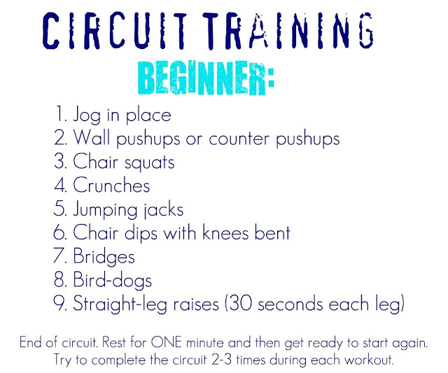 circuit training help from personal trainers